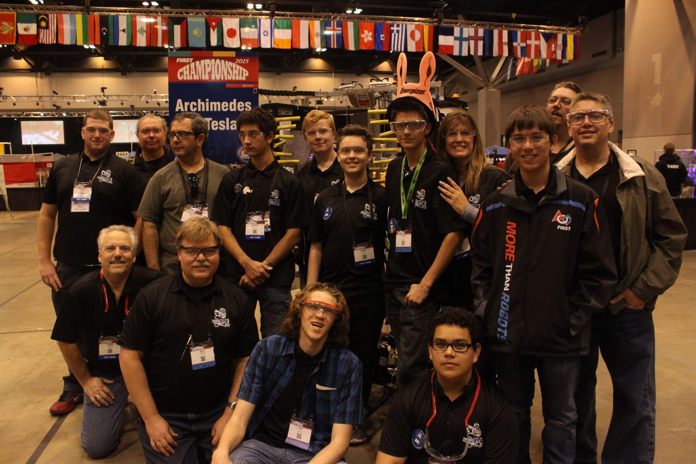 2015 FRC World Championship: Team Picture