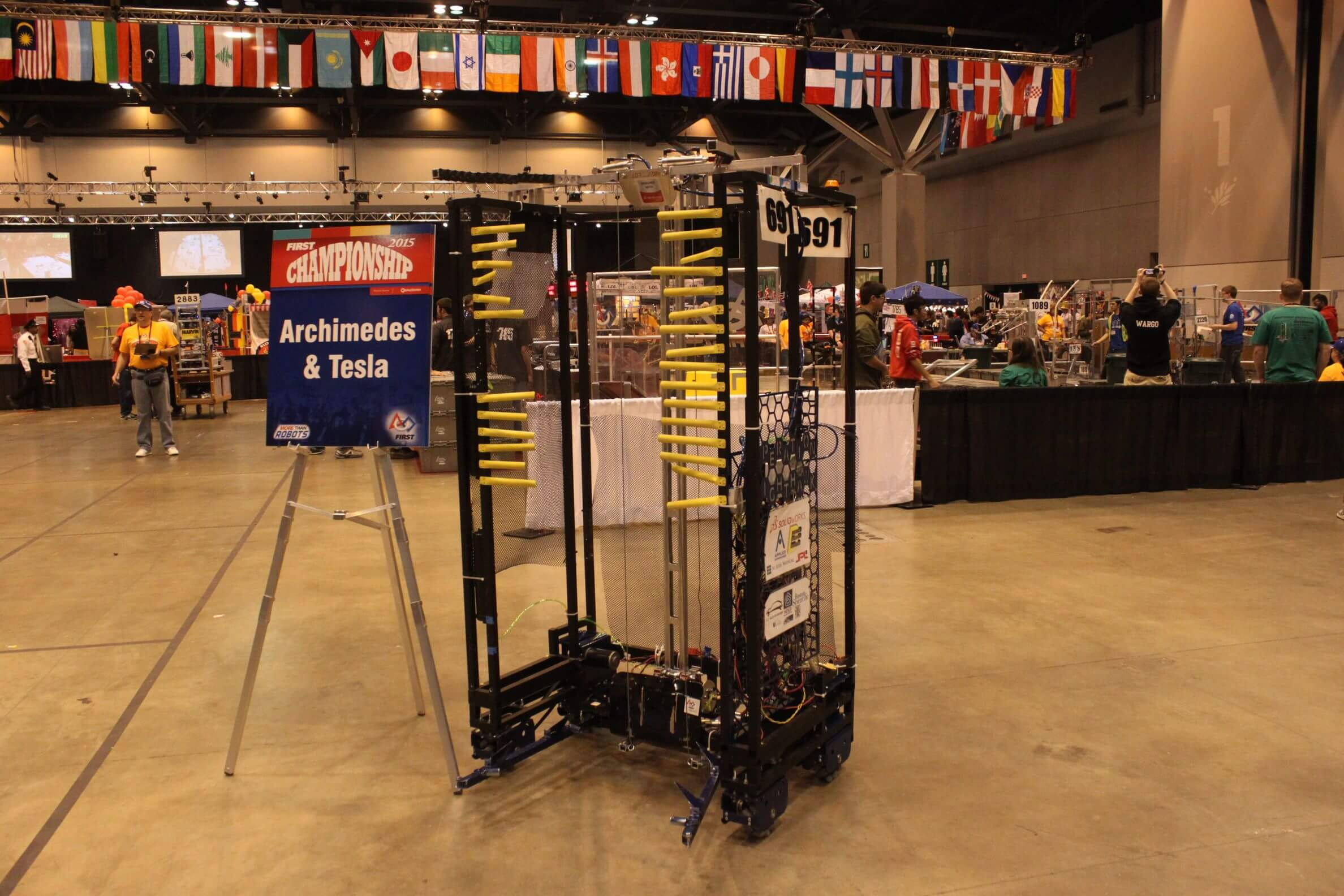 2015 FRC World Championship: Robot: Nighthawk